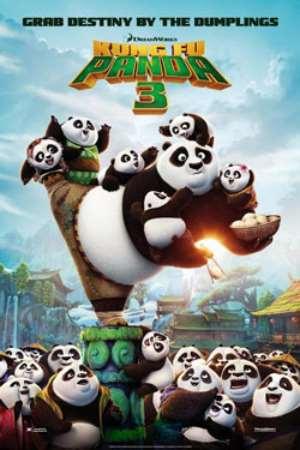 دانلود انیمیشن پاندای کونگ فو کار ۳ - Kung Fu Panda 3 2016