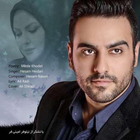 دانلود آهنگ جدید حسام حیدری و نیلوفر امینی فر مثل خودت