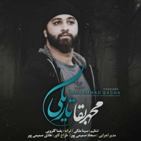 دانلود آهنگ جدید محمد بقا تاریکی