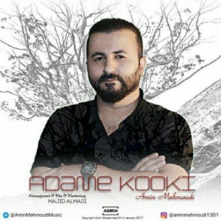 دانلود آهنگ جدید امین محمودی آدم کوکی