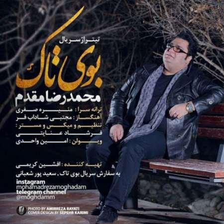 دانلود آهنگ جدید محمدرضا مقدم بوی تاک